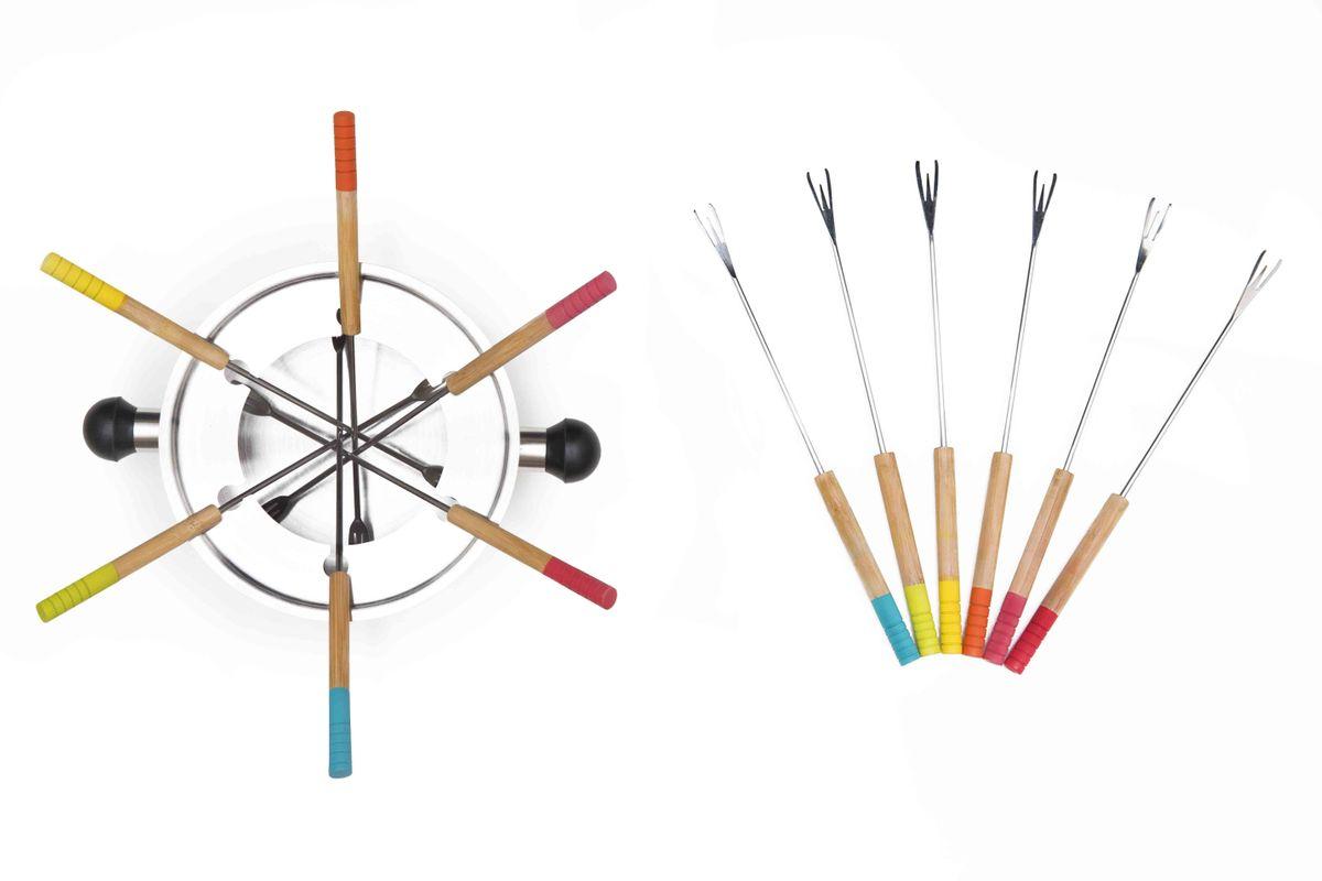 Accessoire pics à fondue - Set de 6 - Pebbly