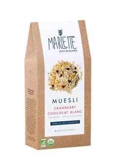 MUESLI CRANBERRY CHOCOLAT BLANC - MARLETTE