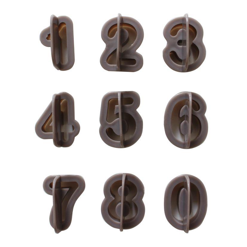 Découpoir chiffres - Alice Délice