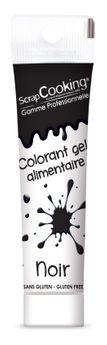 Colorant gel alimentaire noir 20 gr - Scrapcooking