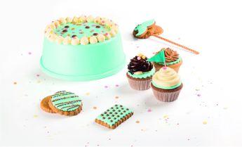 Achat en ligne Rouleau de pâte à sucre bleu clair 430 gr - Voila