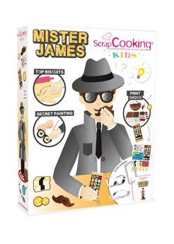 Kit Mister James - Scrapcooking