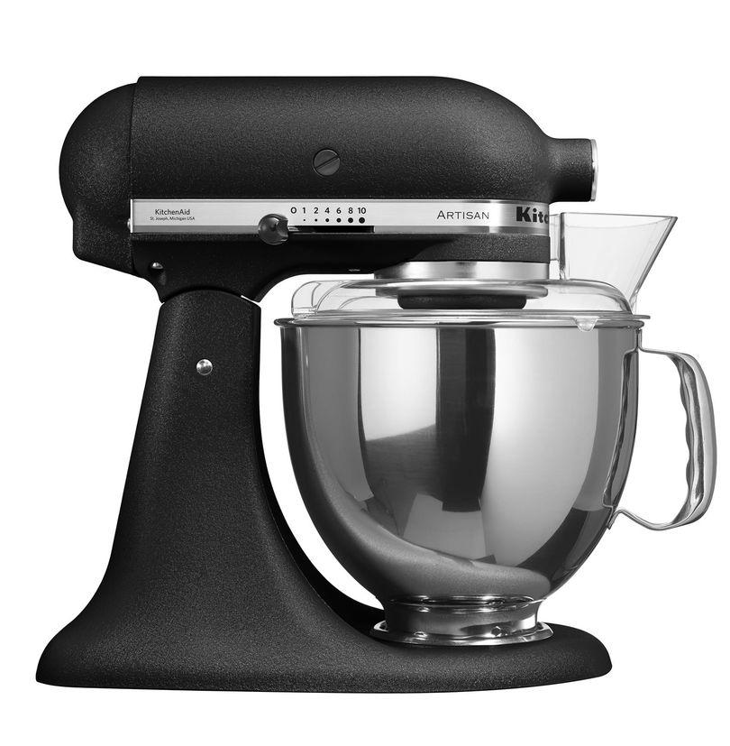 Robot pâtisserie artisan truffe noire 5KSM175PS 4.8 l - Kitchenaid