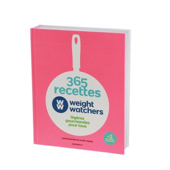 365 RECETTES WEIGHT WATCHERS - MARABOUT