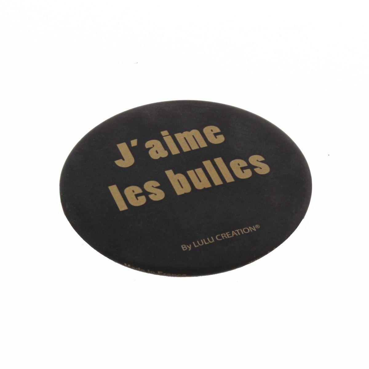 Magnet décapsuleur - J´aime les bulles - Lulu Création