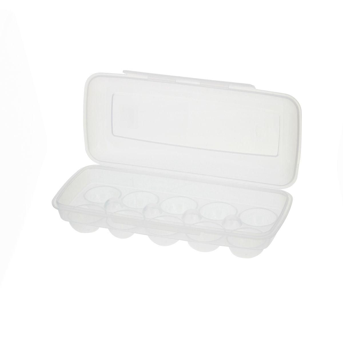 Boîte à 10 oeufs Clip & Close en plastique transparent - Emsa