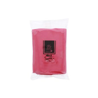 PATE A SUCRE ROSE FONCE 250G