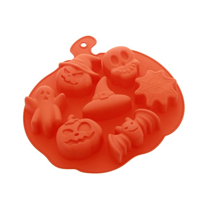 MOULE SILICONE 7 FORMES HALLOWEEN - ALICE DELICE
