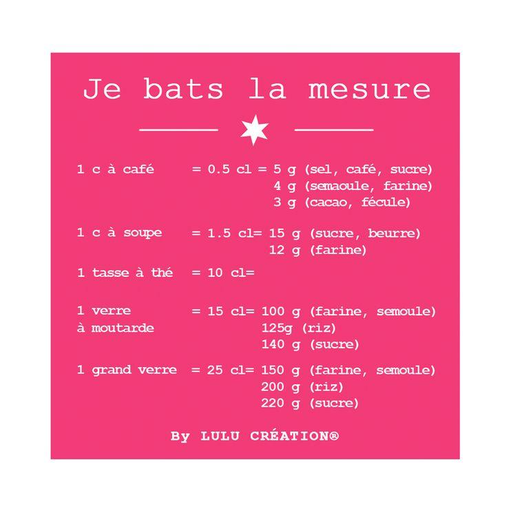 "MAGNET ""JE BATS LA MESURE"" FRAMBOISE - LULU CREATION"