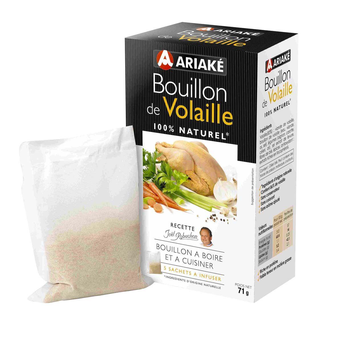 Bouillon de volaille 71gr - Ariake