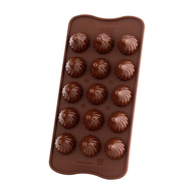 Moule à chocolat en silicone Chocoflame - Silikomart