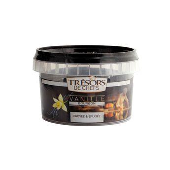 Achat en ligne Poudre de gousses de vanille bourbon vidées 50g - Trésors de Chefs