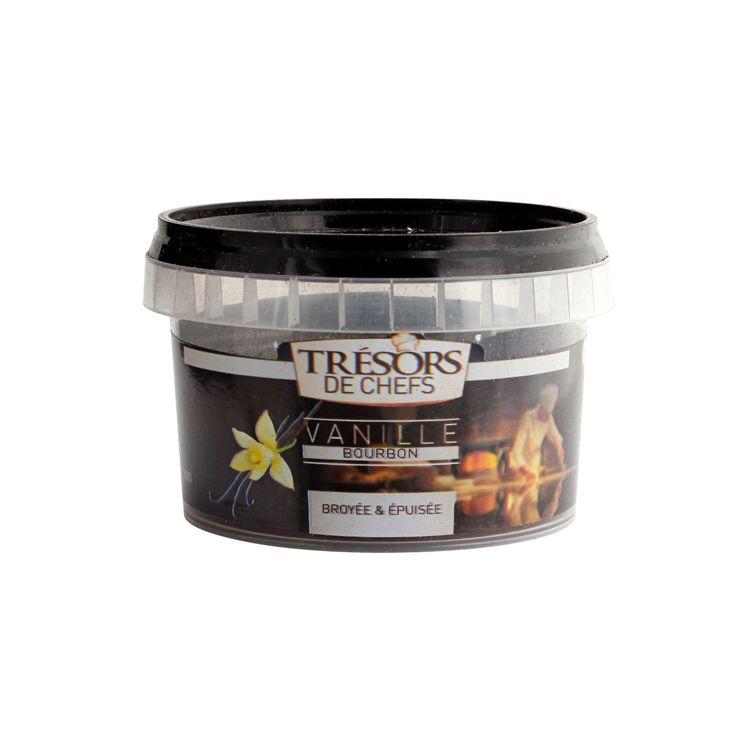 Poudre de gousses de vanille bourbon vidées 50g - Trésors de Chefs
