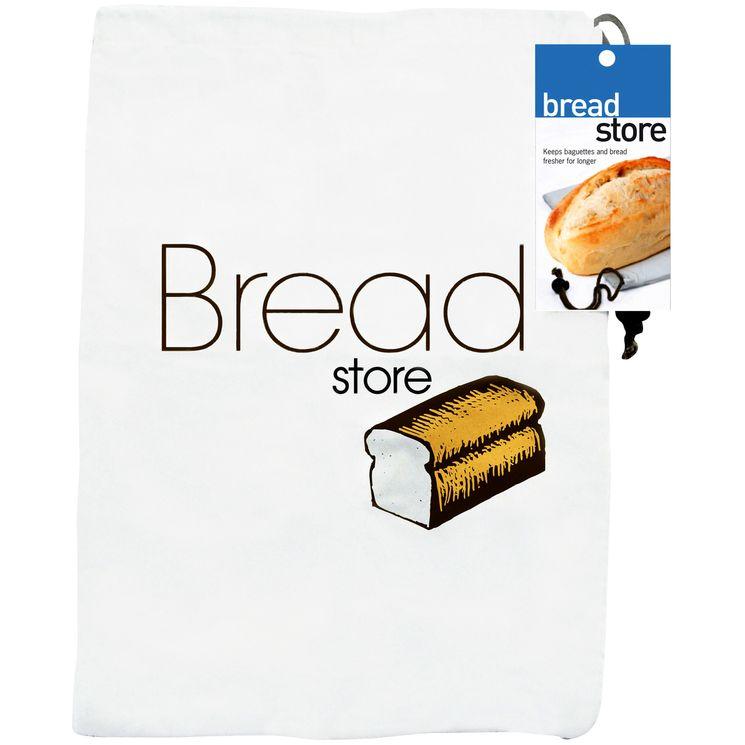 Sac à pain coton blanc - Eddingtons