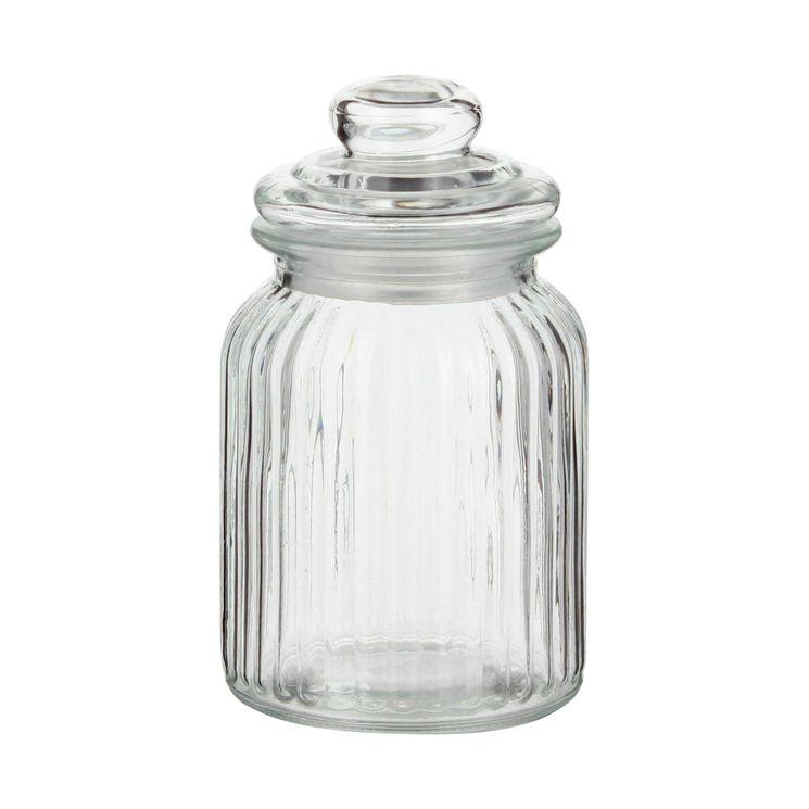 Bonbonnière en verre nostalgie 0.9L - Zeller