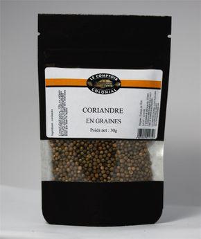 Achat en ligne Coriandre en graines 30gr - Le Comptoir Colonial