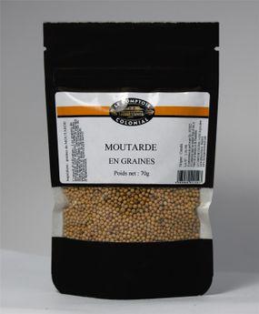 Achat en ligne Moutarde en graines 70gr - Le Comptoir Colonial