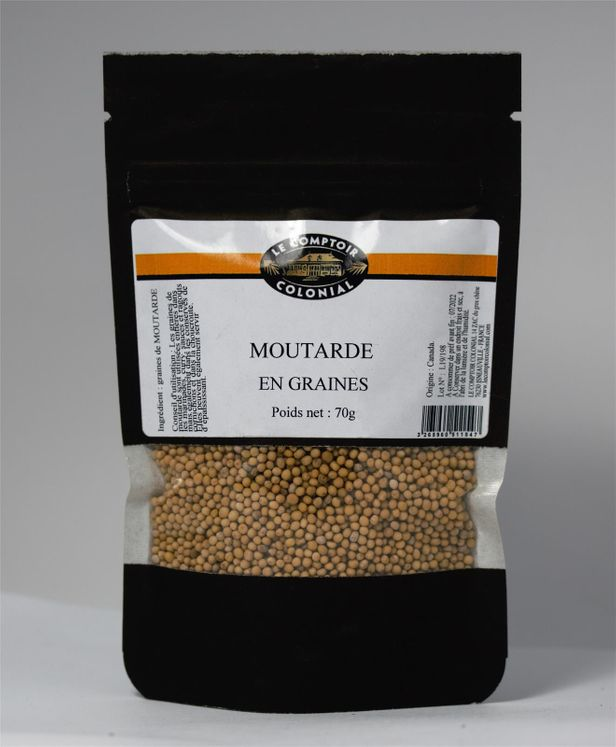 Moutarde en graines 70gr - Le Comptoir Colonial