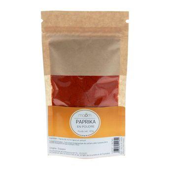 Paprika en poudre sachet 60gr - Le comptoir colonial