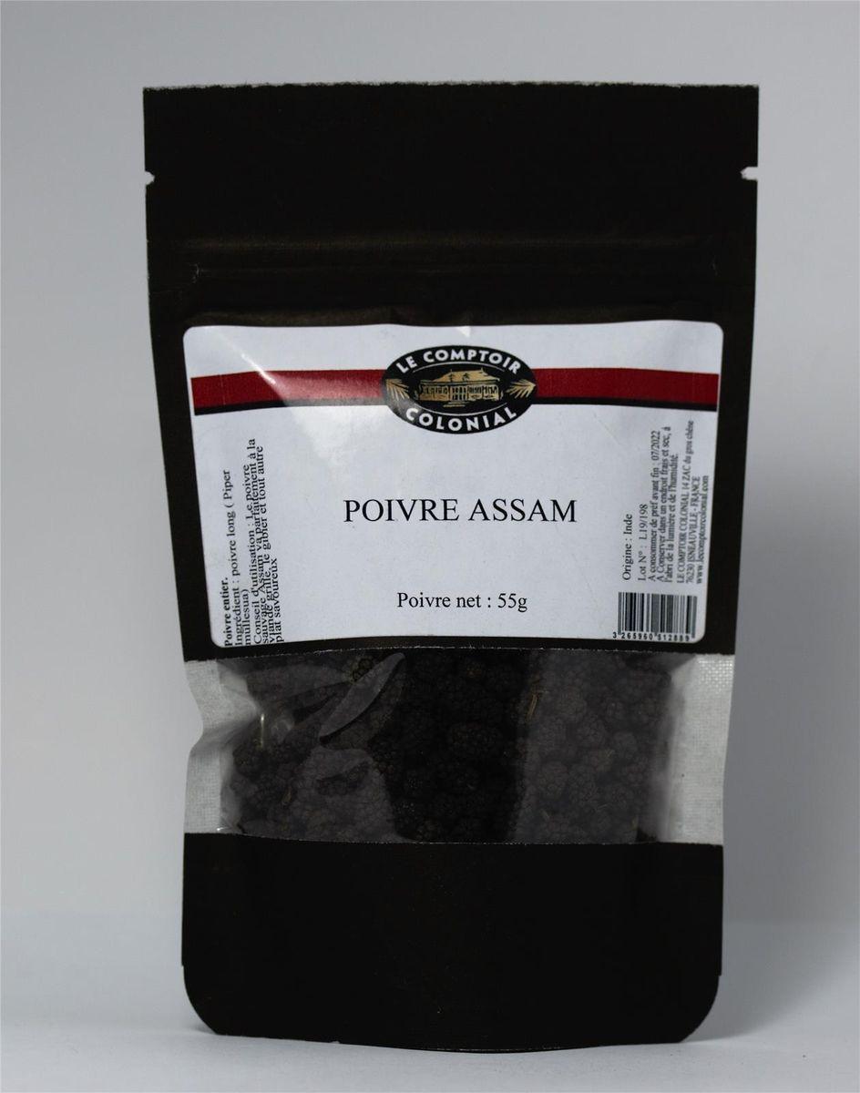 Poivre Assam Sachet 55gr - Le comptoir colonial