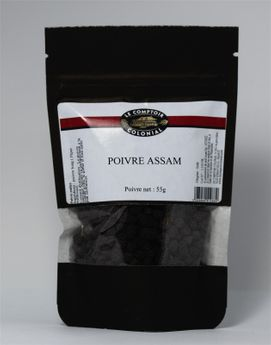 Poivre Assam Sachet 55gr - MAOM