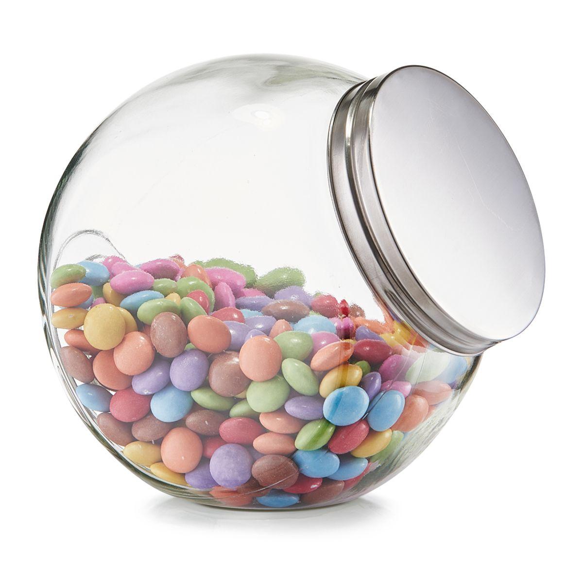 """""""Bocal de conservation """"""""candy"""""""" avec couvercle 1200 ml - Zeller"""""""