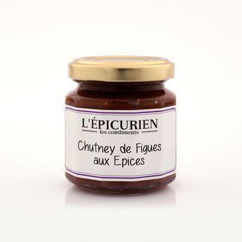 Chutney de figues aux épices 115g - L´Epicurien