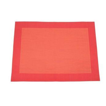 SET DE TABLE VINY´L 36X48 MANDARINE 100% PVC - HARMONY