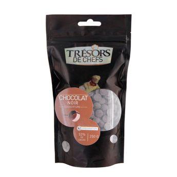 Achat en ligne Chocolat noir de couverture chocolat 250 g - Trésors de Chefs