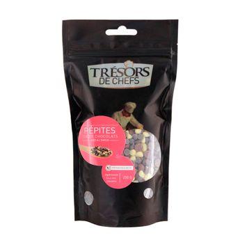 PEPITES TROIS CHOCOLATS 250G - TRESORS DE CHEFS