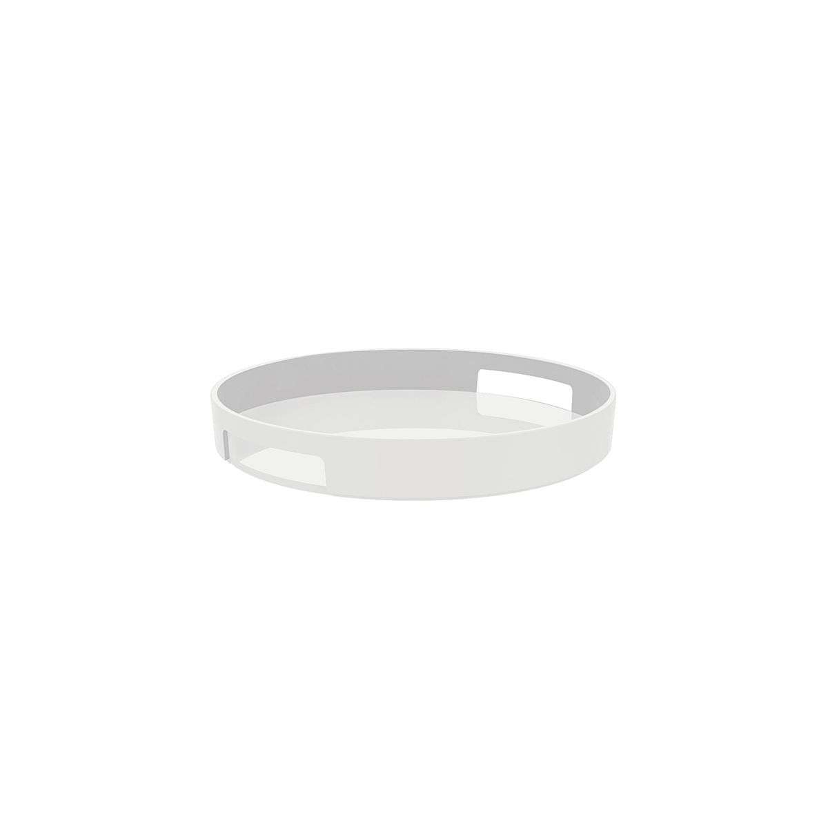 Gallery - Plateau rond 30 cm blanc - Zak! Designs