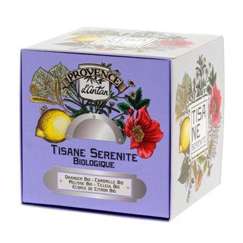 Achat en ligne Recharge tisane bio Sérénité 36g - Provence d´Antan