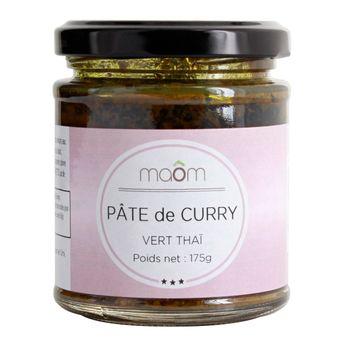 PATE DE CURRY VERT - MAOM