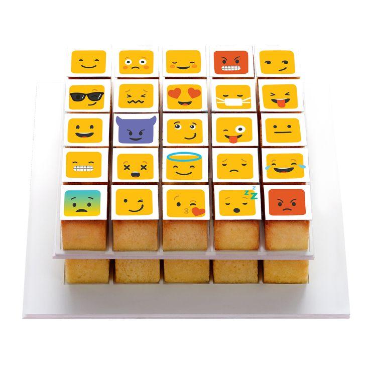 Pixdeco émoji décor en sucre pour pixmoule - Silikomart