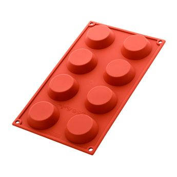 Achat en ligne Moule en silicone 8 tartelettes - Silikomart