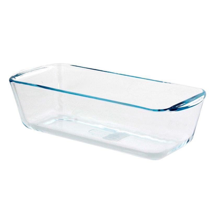 Moule à cake en verre transparent 12 x 28 cm - Pyrex