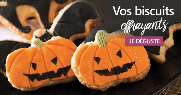 Vos biscuits effrayants