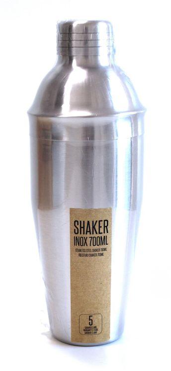 SHAKER A COCKTAIL - 700 ML - INOX BROSSE - ALICE DELICE