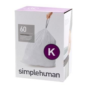 60 SACS POUBELLE 35L - SIMPLE HUMAN