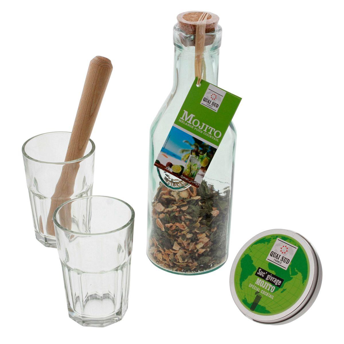 COFFRET SOIREE MOJITO - QUAI SUD