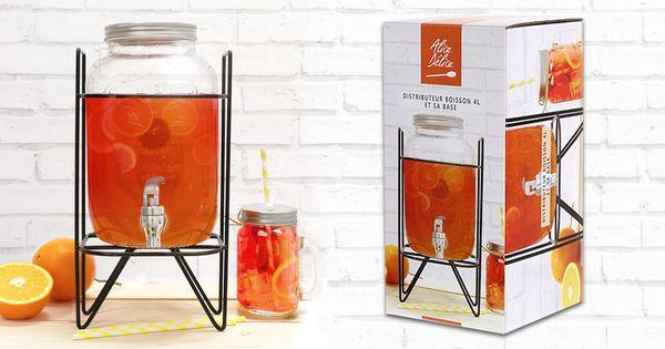 Distributeur de boisson 4L - Alice Délice