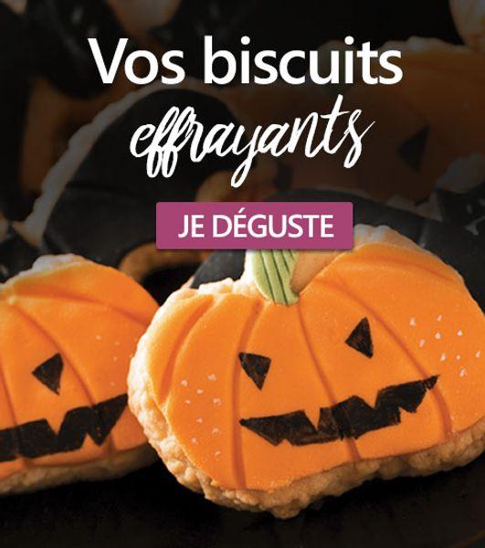 Biscuits effrayants