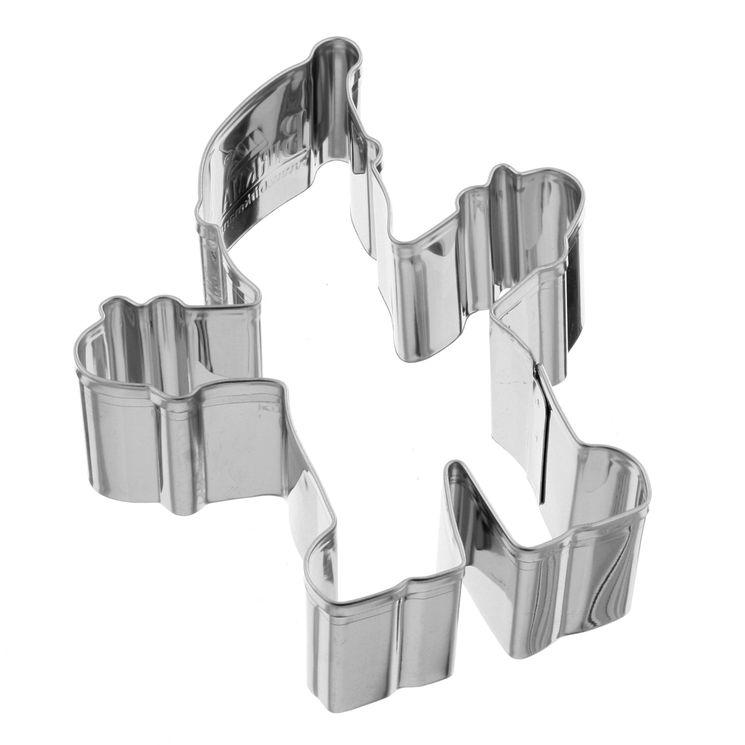 Emporte pièce inox elfe de Noël 8.5 cm - Birkmann
