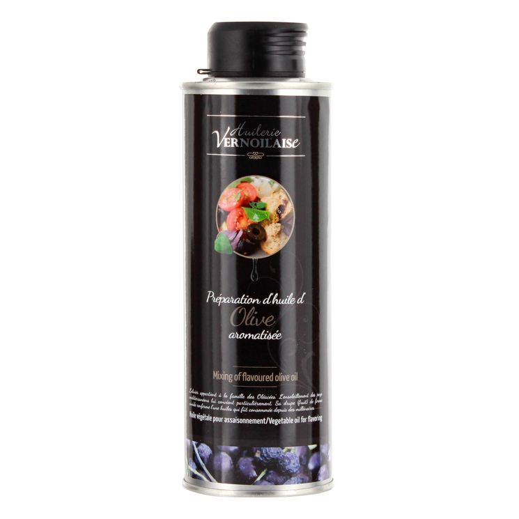 HUILE D´OLIVE AROMATISEE A LA TRUFFE BLANCHE - HUILERIE VERNOILAISE