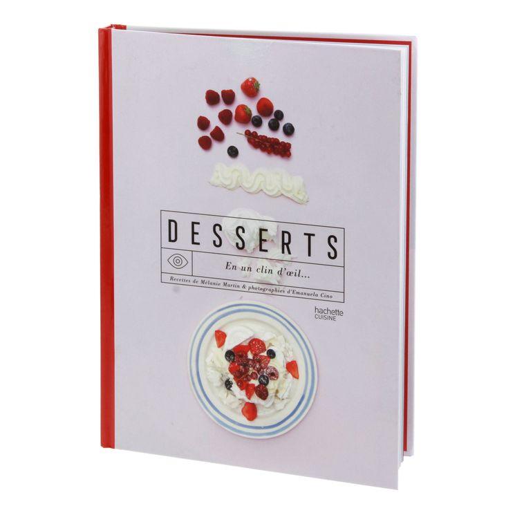 Desserts en un clin d´œil - Hachette Cuisine