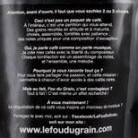 Café moulu pour cafetière italienne 250gr Honduras Accord n°16 - Le Fou du Grain