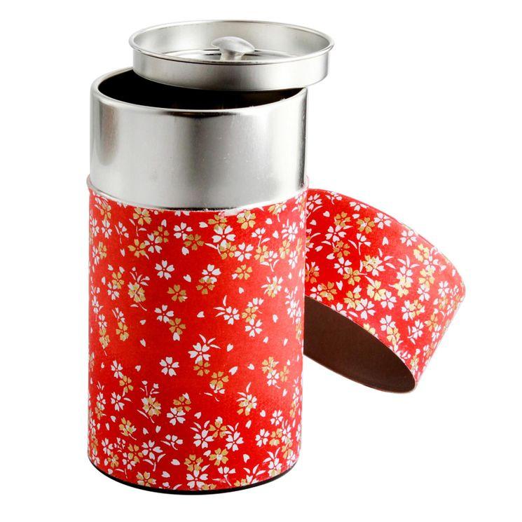Boîte thé 150g 6.5x12.5 cm Kosumosu - Bastide Diffusion