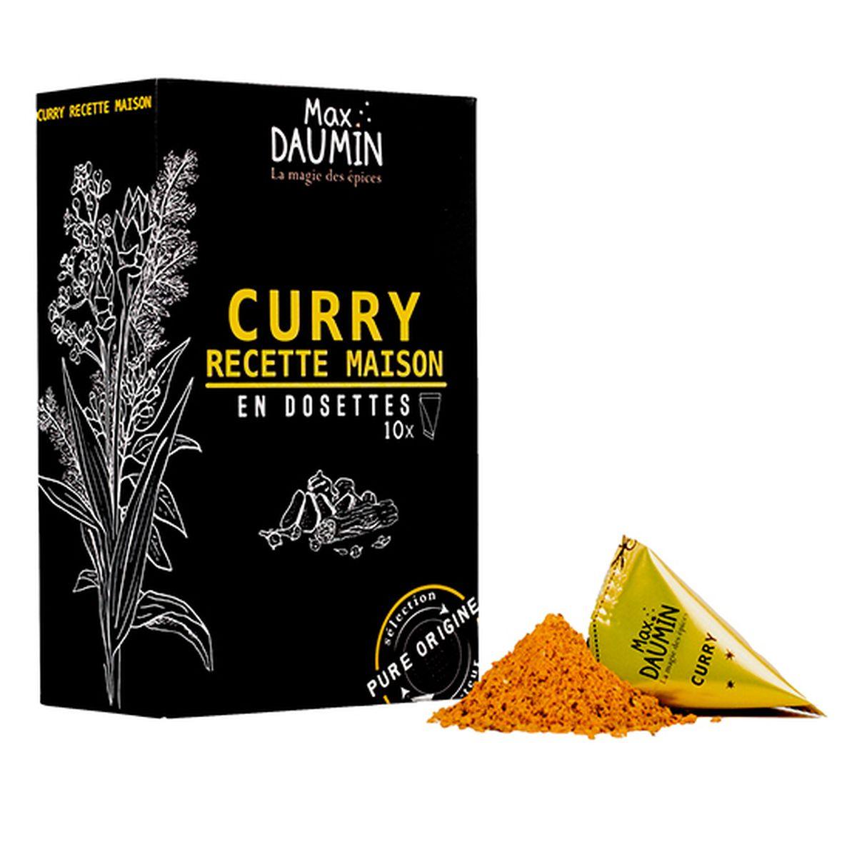 Curry recette maison - Max Daumin