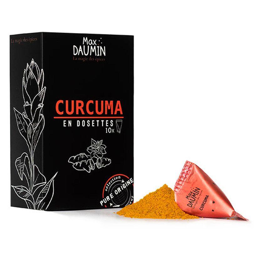 Boîte de 10 dosettes individuelles Curcuma - Max Daumin
