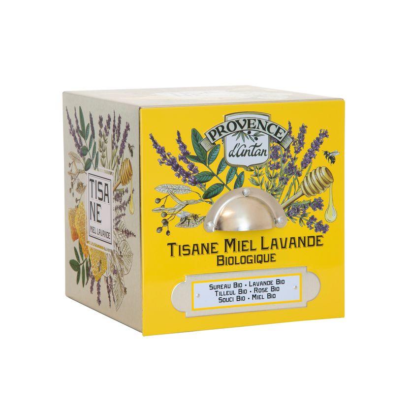 Tisane bio Lavande miel 36g - Provence d´Antan